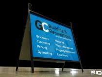 GC Building & Renovations – Reverse Folding Frame