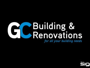 GC Building & Renovations – Logo