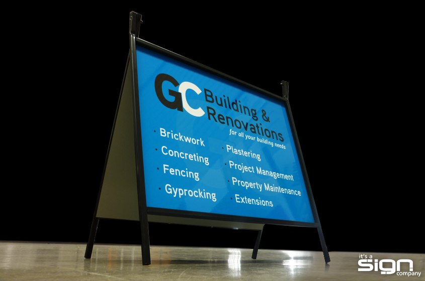 GC Building & Renovations – Reverse Folding Frame