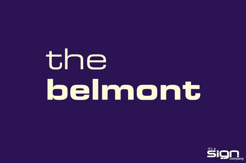The Belmont – Logo